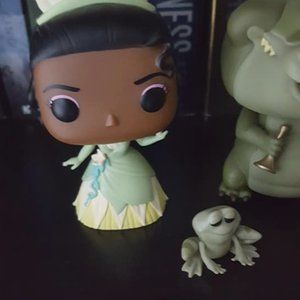 Princess and the frog and louis funko pops bundle
